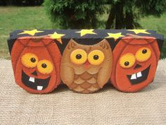 Halloween Hoot Decorative Painting