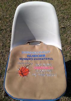 CONNECTICUT HUSKIES Women's Basketball Stadium Bleacher Cushion…