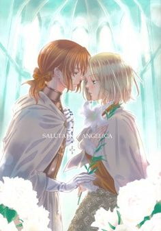 """Hetalia ships: LietPol - Seems quite weird to me - Lithuania clearly has some kind of feelings towards Poland, but Poland himself is too self-centered to even notice, so Lithuania does in fact not """"love"""" Poland in the way shippers would wish them to. I also can't imagine chemistry between them working very well."""