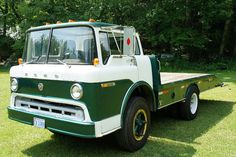 1970 Ford C Series Tilt Cab Truck With A Custom Dovetail Bed Trucks Semi