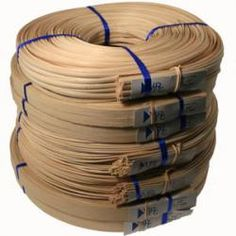 Reed - flat reed, round reed, flat oval reed, smoked, and half round are some of the reed types that we sell for seat weaving and basket weaving reed. Cane Baskets, Making Baskets, Basket Weaving Patterns, Willow Weaving, Bamboo Crafts, Simple Gifts, Textiles, Diy And Crafts, Handmade Crafts