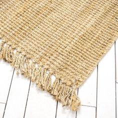 Extra Large Jute Brown Rug | Natural Seagrass Rug | Birch & Brass Vintage Rentals | Weddings and Corporate Events | Austin, Texas