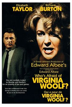 Book vs Film: Who's Afraid of Virginia Woolf?