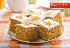 CIASTO MARCHEWKOWE - kolorowe, bardzo proste i smaczne ciasto z marchewki, które zawsze i każdemu wychodzi. Sprawdzony przepis.