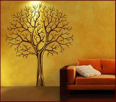Wandtattoo Wandbild Casao Baum Äste (Na 33C) Von Casao Auf DaWanda.com
