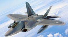 F-22 Raptor entre os caças mais caros do mundo.F-22 Raptor – US$ 150 milhões