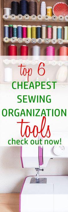 sewing room organization | craft storage | thread storage | fabric organization | sewing room decor