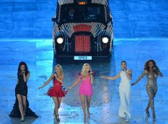 2012 London Olympic Games Closing Ceremony. Spice Girls - love em!!