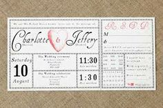 contemporary invitations, retro design - Google Search