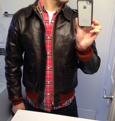 #menstyle - #A2jacket  Bill Kelso A2 Arco 18775