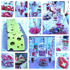 The Biscuit Box is the home of beautifully iced biscuits for all occasions. Whether it's an invitation to that special party; Swiss National Day, Swiss Days, Personalised Biscuits, Swiss Flag, Iced Biscuits, Candy Table, My Heritage, Switzerland, 4th Of July