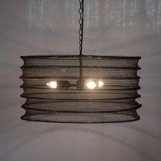lighting griffin drum pendant