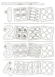 43 besten Zahlen Bilder auf Pinterest | Lernwerkstatt, Kinder lernen ...