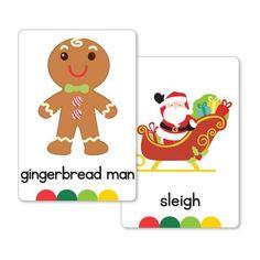 Christmas Flash Cards Set
