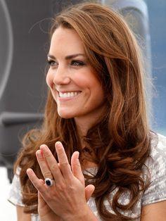 Catherine Middleton's, Duchess of Cambridge, signature hairstyle