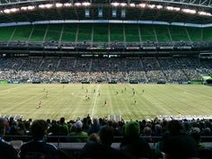 Sounders FC v. Colorado Rapids - April 26 @ Century Link Field  Club Seats are awesome!