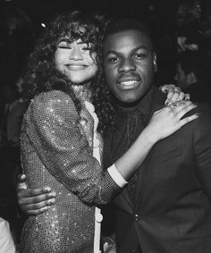 Zendaya and John Boyega One And Only, The One, Zendaya Maree Stoermer Coleman, John Boyega, Celebs, Celebrities, Black Women, Thankful, Singer