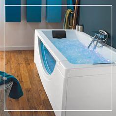Qui n'a jamais rêvé d'avoir un spa à domicile ? Avec la baignoire balnéo Aquarium, bien-être et détente seront au rendez-vous, chez vous !