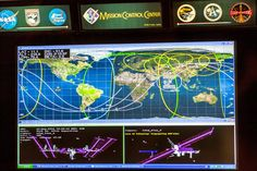 At ISS Mission Control in Houston, the main front display is still powered by Windows XP