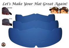 91846704a9c Amazon.com   3Pk. Beige Manta Ray Baseball Caps Crown Inserts For Low  Profile Caps
