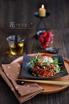 「ビビン麺始めました。」 #花ヲツマミニ