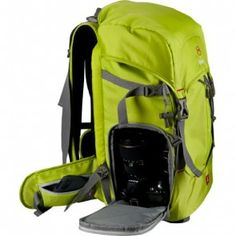Nest Explorer 300L Camera Backpack Green