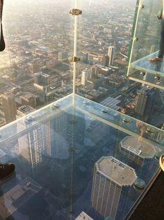 Sky deck on Willis Tower