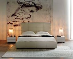 U Pana Boga za piecem ;)  #bed #sleep #italiantaste #internoitaliano #modern #style