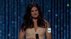 "Idina Menzel Oscars Performance for Frozen ""Let It Go"" 