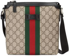 Get one of the hottest styles of the season! The Gucci Gg Supreme Flat Beige Canvas/Leather Messenger Bag is a top 10 member favorite on Tradesy. Save on yours before they're sold out! Gucci Messenger Bags, Canvas Messenger Bag, Gucci Bags, Burberry Handbags, Gucci Men, Supreme, Diy For Men, Presents For Men, Gucci Sneakers
