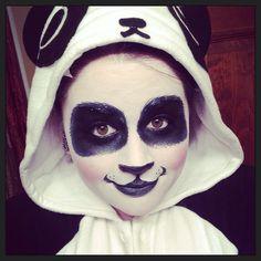 Panda makeup 2013
