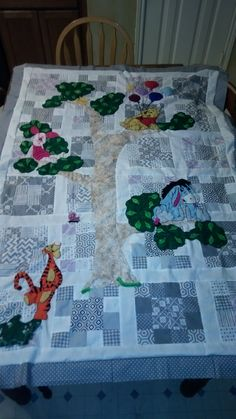 Almost ready for sandwiching/quilting. Quilt top completed, turned out so cute, I think.