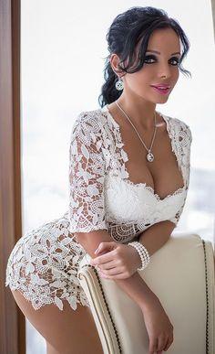 Sexy, ondeugend en sensueel plagend: Photo