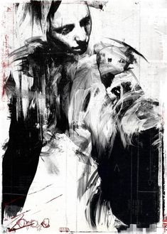 Artist Russ Mills  Quelle: behance.net  #Art #fine art #Illustration #Russ Mills