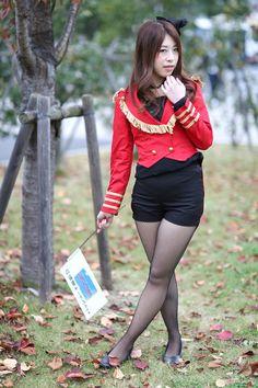 Cute Asian Girls, Sexy Stockings, Drawing Poses, Beautiful Asian Women, Asian Woman, Punk, Legs, Womens Fashion, Model