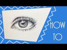 Ein REALISTISCHES AUGE zeichnen | Tutorial | MiaMedia - YouTube