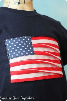 Waving Flag Appliqué