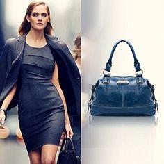 Amazon.com: Meily(TM) Women Luxury Handbag Shoulder Bags Tote Purse Leather Messenger Hobo Bag: Clothing