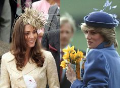 Kate Middleton and Princess Diana: Now that Prince William's wife is pregnant with an heir to the throne, we are going to see quite similar mothering from Kate. She is going to be like Diana. She is going to want to be present; she is going to want to take the children to school.  Diana made sure she was on hand for everything she possibly could.