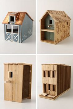 birdhouses | Designer Birdhouses from Anthropologie | Manolo for the Home