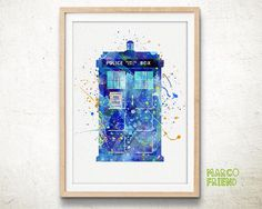 Hey, I found this really awesome Etsy listing at https://www.etsy.com/listing/219532158/tardis-doctor-who-watercolor-art-print