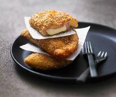 Chaussons panés jambon-fromage