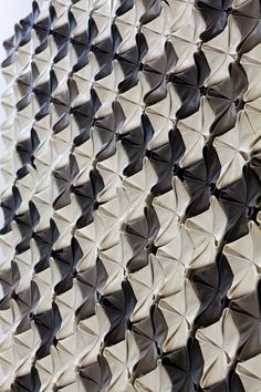 Sophie Marionnet Studio Design Cuir Panneau Mural Texture 3d  Leather Wall Panel Leather Wall Panels, Young Designers, Living Spaces, Objects, Studio Design, Texture, Quilts, Blanket, 3d