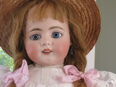 22 inch Antique German Doll by Simon Halbig Mold 719