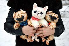 French Bulldog by GakmanCreatures on Etsy
