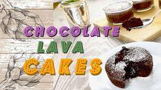 Easy Chocolate Lava Cakes / Souffle - YouTube Easy Chocolate Lava Cake, Lava Cakes, Channel, Youtube, Recipes, Rezepte, Food Recipes, Youtubers, Recipies