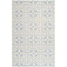 Safavieh Cambridge Light Blue & Ivory Area Rug & Reviews | Wayfair