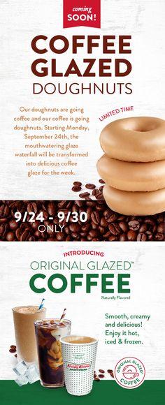 Krispy Kreme, Enjoy It, Doughnuts, Fruit, The Originals, Food, Essen, Yemek, Meals