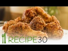 Wow! Better than KFC, moist and crispy fried chicken - By RECIPE30.com - YouTube