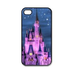 The Disney Castle iPhone 4/4S Case Hard Protective Back Case